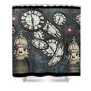 The Guardians Of The Time Stopped Shower Curtain