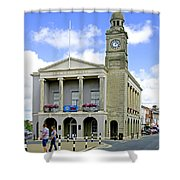 The Guild Hall At Newport Shower Curtain