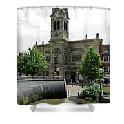The Guildhall - Derby Shower Curtain