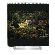 The Guinness House Wicklow Shower Curtain
