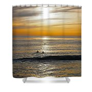 The Gull And Us Shower Curtain