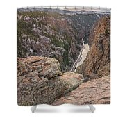The Gunnison River At Black Canyon Shower Curtain