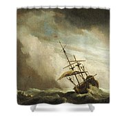 The Gust 3 Shower Curtain