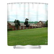 The Gym At Sweet Briar Shower Curtain