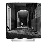 The Hallway Shower Curtain