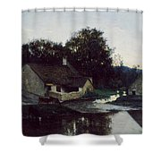The Hamlet Of Optevoz Shower Curtain