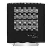 The Hammer Shower Curtain