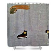 The Hand 2 Shower Curtain