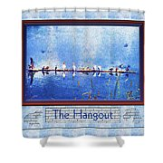 The Hangout Shower Curtain