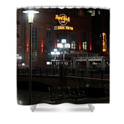 The Hard Rock At The Inner Harbor Shower Curtain