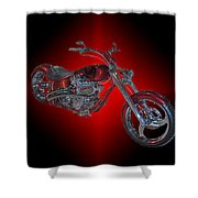 The Harley Shower Curtain