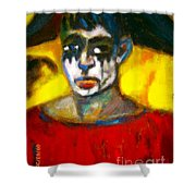 The Harpe Mai Hart. Shower Curtain