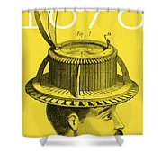 The Hat Conformator Shower Curtain
