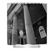 The Haunted Auditorium Shower Curtain
