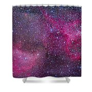The Heart And Soul Nebulae Shower Curtain
