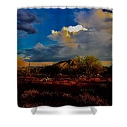 The Heart Of Cave Creek Shower Curtain