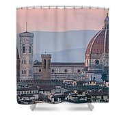 The Heart Of Florence Italy Shower Curtain