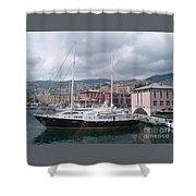 The Heart Of Genova. Shower Curtain
