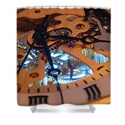 The Heart Of The Machine Shower Curtain