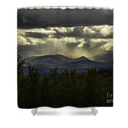 The Heavens And The Earth Shower Curtain