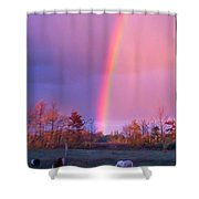 The Heavens Awaken  Shower Curtain