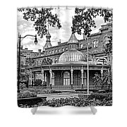 The Henry B. Plant Museum Bw Shower Curtain