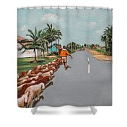 The Herd 1 Shower Curtain