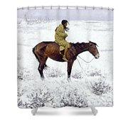 The Herd Boy Shower Curtain