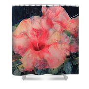 The Hibiscus Shower Curtain