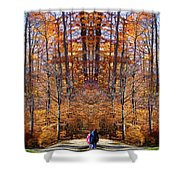 The Hidden Path Revealed Shower Curtain
