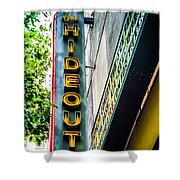 The Hideout Shower Curtain