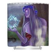 The High Priestess Shower Curtain