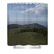 The High Road 2 Shower Curtain