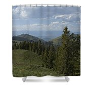The High Road Shower Curtain