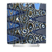 The High Road,abstract Shower Curtain