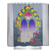 The High Window Shower Curtain