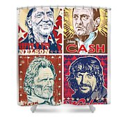 The Highwaymen Shower Curtain