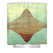 The Hill In The Middle Of Nowhere Shower Curtain