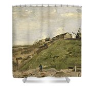 The Hill Of Montmartre With Stone Quarry 2 Shower Curtain