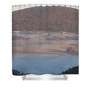 The Hills Of Sharon Orchard Shower Curtain