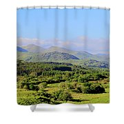 The Hills Of Southern Ireland Shower Curtain