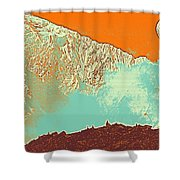 The Himalayas Shower Curtain