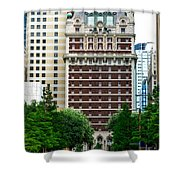 The Historic Adolphus Hotel Shower Curtain