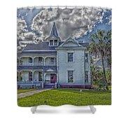The Historic Rabb Plantation Home Shower Curtain