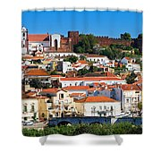 The Historic Town Of Silves In Portugal Shower Curtain