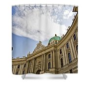 The Hofberg In Vienna Shower Curtain