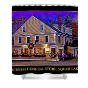 The Holderness General Store Shower Curtain
