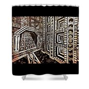 The Hollow Citadel Shower Curtain