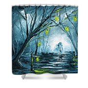 The Hollow Road Shower Curtain