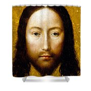 The Holy Face Shower Curtain by Flemish School